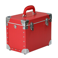 化妆师化妆工具箱 小型手提化妆盒带锁