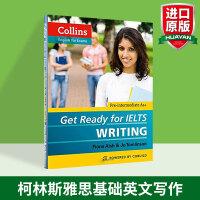 正版现货 柯林斯雅思基础英文写作 英文原版 Get Ready for IELTS Writing 备考雅思写作 英语