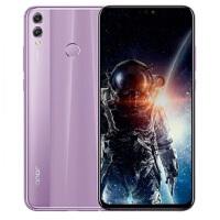 华为 荣耀8X 全网通4GB+64GB 梦幻紫 移动联通电信4G手机 双卡双待