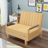 实木沙发床简易沙发床两用床上沙发懒人沙发拆叠折叠沙发床两用多功能省空间客厅小户型单人双人懒人简约现代 其他