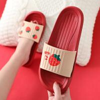凉拖鞋女夏季室内防滑居家家用卡通可爱儿童软底情侣亲子拖鞋夏天