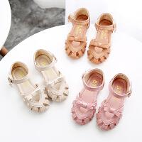 夏季包头儿童鞋公主鞋女童凉鞋中小童软底宝宝