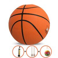 宝宝小皮球儿童弹力球类玩具7号小孩幼儿园专用3号5号拍拍小篮球