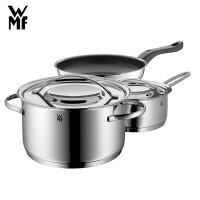 德国WMF福腾宝GALA PLUS锅具三件套装炖锅奶锅煎锅不锈钢厨房