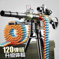 电动连发软弹枪M416儿童玩具枪男孩小机关枪仿真狙击加特林机关枪