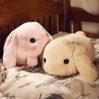 毛绒公仔兔子抱枕玩具布娃娃公仔玩偶可爱长条枕女生儿童创意礼品