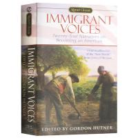 正版 Immigrant Voices 移民的声音 英文原版 英文版原版 美国梦的实现 进口英语书籍