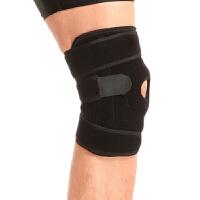 户外护膝四弹簧 夏季透气防护护具 保护膝盖防止扭伤登山篮球跑步健身运动护膝 单只盒装