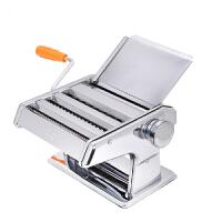 普润(PU RUN) 面条机 压面机 手动非电动饺子皮机擀面机 不锈钢压面机