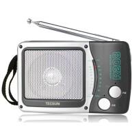 Tecsun/德生 R-208 收音机 小型台式调频/调幅收音机 老人 收音机