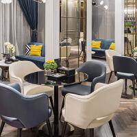 椅沙发组合售楼处酒店会所休息区会议接待简约现代家具定制