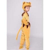 儿童动物表演服十二生肖猴子小猪兔子鸡狗牛小熊蚂蚁演出服装