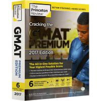 现货正版 突破破解GMAT考试2017 高等版 英文原版进口书籍Cracking the GMAT PREMIUM 英