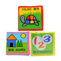 itty-bitty 伊诗比蒂儿童布书折细图画书 宝宝布书 颜色图形数字