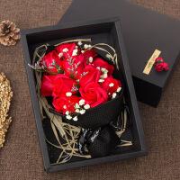 物有物语 香皂花 玫瑰花永生花礼盒520礼物送女友送老婆情人节礼物生日礼物女生创意礼品礼盒装