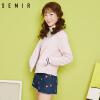 森马夹克女秋新款棒球服女装韩版运动外套宽松立领学生上衣