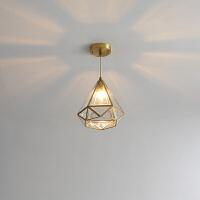 北欧简约走廊过道灯吸顶灯个性创意玄关阳台吸顶灯厨房灯具
