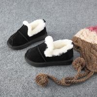 2017冬季新款儿童棉拖鞋冬男童女童加厚棉鞋棉靴宝宝雪地靴保暖鞋