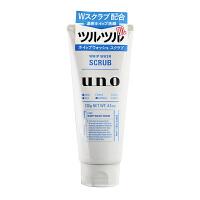 资生堂(Shiseido)洁面UNO吾诺男士磨砂�费战嗝嫒�130g