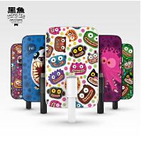 黑鱼 移动电源时尚个性手机充电宝适用于苹果手机 黑鱼苹果专用迷你卡通移动电源iphone5/6Plus iphone7 plus可爱 充电宝