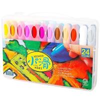 当当自营Coloyou 卡乐优 儿童工具 绘画工具 24色水蜡笔 TT2015
