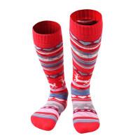户外男女儿童冬季保暖高帮袜滑雪袜子加厚跑步吸汗速干