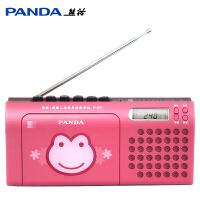 熊猫F137磁带机复读机学生英语学习教学用卡带单放机播放机录放收录收音机小学生初中生儿童放磁带的便携老式 可爱 时尚