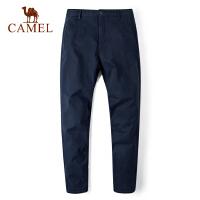 camel骆驼户外休闲裤男女 吸湿透气干爽情侣款户外休闲裤