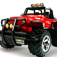 胜雄 1:14遥控车 遥控越野车 悍马儿童玩具车遥控汽车(红色-迷彩)