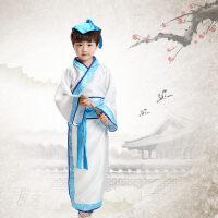 儿童古装汉服书童三字经古装服装 儿童国学弟子规儿童古装演出服