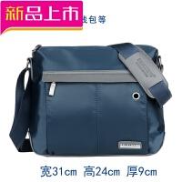 尼龙斜挎包男包单肩包男士包包牛津纺韩版休闲帆布包背包潮大容量