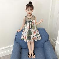 女童裙子2018夏装新款儿童洋气连衣裙中大童裙小童公主裙韩版