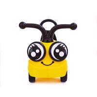 带音乐玩具小蜜蜂儿童溜溜车助步车童车1/2-3岁宝宝滑行车扭扭车