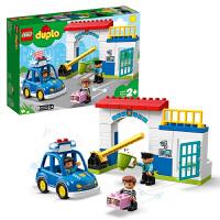 【当当自营】LEGO乐高积木得宝DUPLO系列10902 2岁+警察局