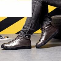 新品冬季高帮板鞋男鞋韩版潮流运动鞋加绒保暖棉鞋男士休闲鞋百搭潮鞋