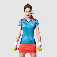 2018团购韩国新品夏装羽毛球服【套装】比赛训练服透气网球服