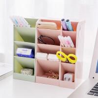 物有物语 桌面收纳盒 创意简约桌面收纳盒学生宿舍用抽屉整理盒塑料文具杂物收纳整理架