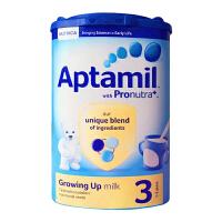 【当当海外购】英国Aptamil爱他美 婴幼儿配方奶粉3段(1-2周岁宝宝 900g)日期新鲜