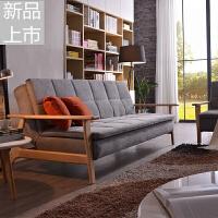沙发床可折叠客厅小户型双人多功能简约现代两用北欧可变床的沙发定制 1.8米-2米