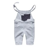 吊带背心宝宝婴儿连体休闲外出服01岁季薄款休闲背带裤新年