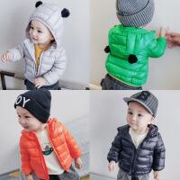新生儿衣服 冬季 轻薄羽绒服婴儿0-6个月加厚宝宝棉衣外套1-3周岁