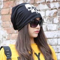 女士帽子套头帽韩版堆堆帽潮包头帽头巾帽睡帽月子帽薄
