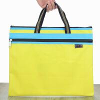 贝多美手提袋 双层收纳袋 购物袋 手拎袋 公文袋 文件袋BDM-308单个装