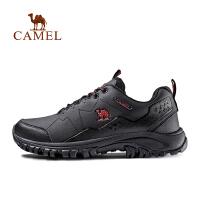 camel骆驼户外徒步鞋 舒适减震男防滑透气轻便休闲徒步鞋