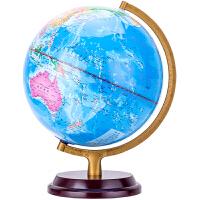 得力地球仪万向带支架教学 2176(带刻度木质底座直径25cm)