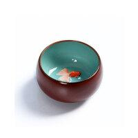 尚帝 功夫茶具 大圆杯 陶瓷品茗杯 茶杯 多种可选 QYTB5017K