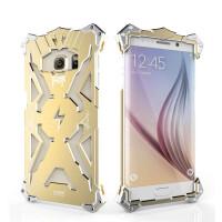 捷力源三星s6plus手机壳s6edge+plus保护套G9280曲面屏保护壳5.7金属保护套  s6edge+plus变形金刚保护套