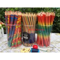 英雄六角笔杆彩色铅笔油性铅笔4色同芯7色同芯创意绘画涂鸦彩铅笔72支