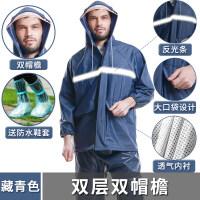 雨衣雨裤套装透明男女骑行分体雨衣电瓶电动摩托车防水新品