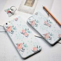 �有牧计� 花朵系列 原创文艺iphone6/plus苹果手机保护壳 手机保护套